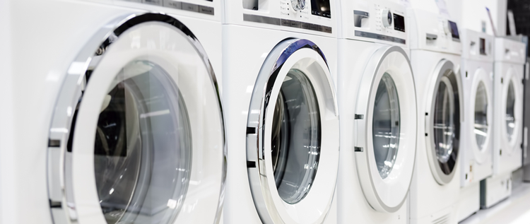 we stock some of the best washing machine brands