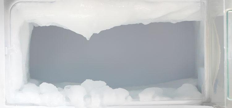 Frost in Freezer