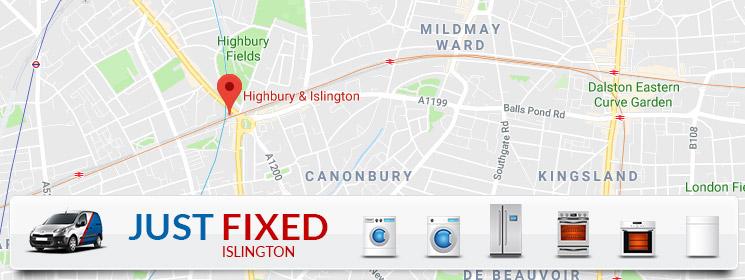 Just Fixed - Islington Branch