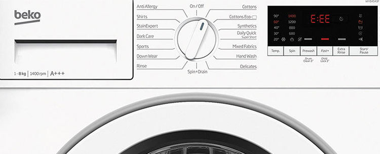 Beko Washing Machine Error Codes - Your Guide - Just Fixed