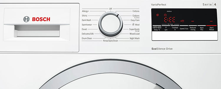 Bosch Washing Machines - Your Guide to Error Codes - Just Fixed
